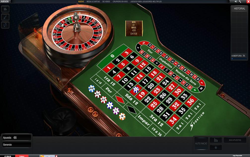 Juega Ruleta Francesa Online en Casino.com México
